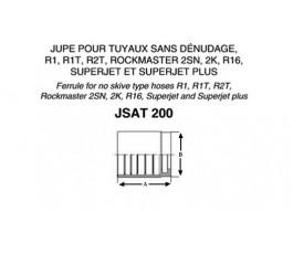 Jupe à sertir JST206